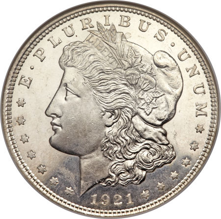 Silver Value Silver Value Morgan Dollars 1921